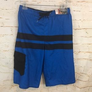 NWT Hang Ten XL board shorts bathing suit blue